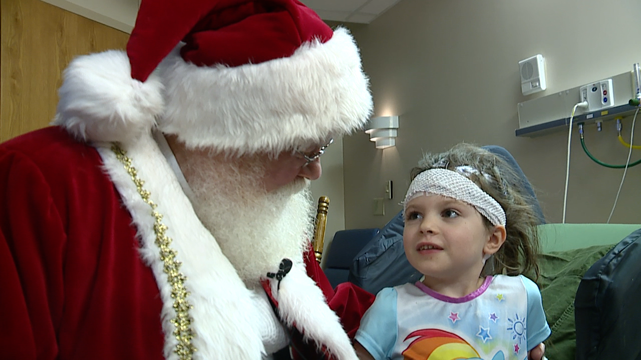 Santa at Akron Children's