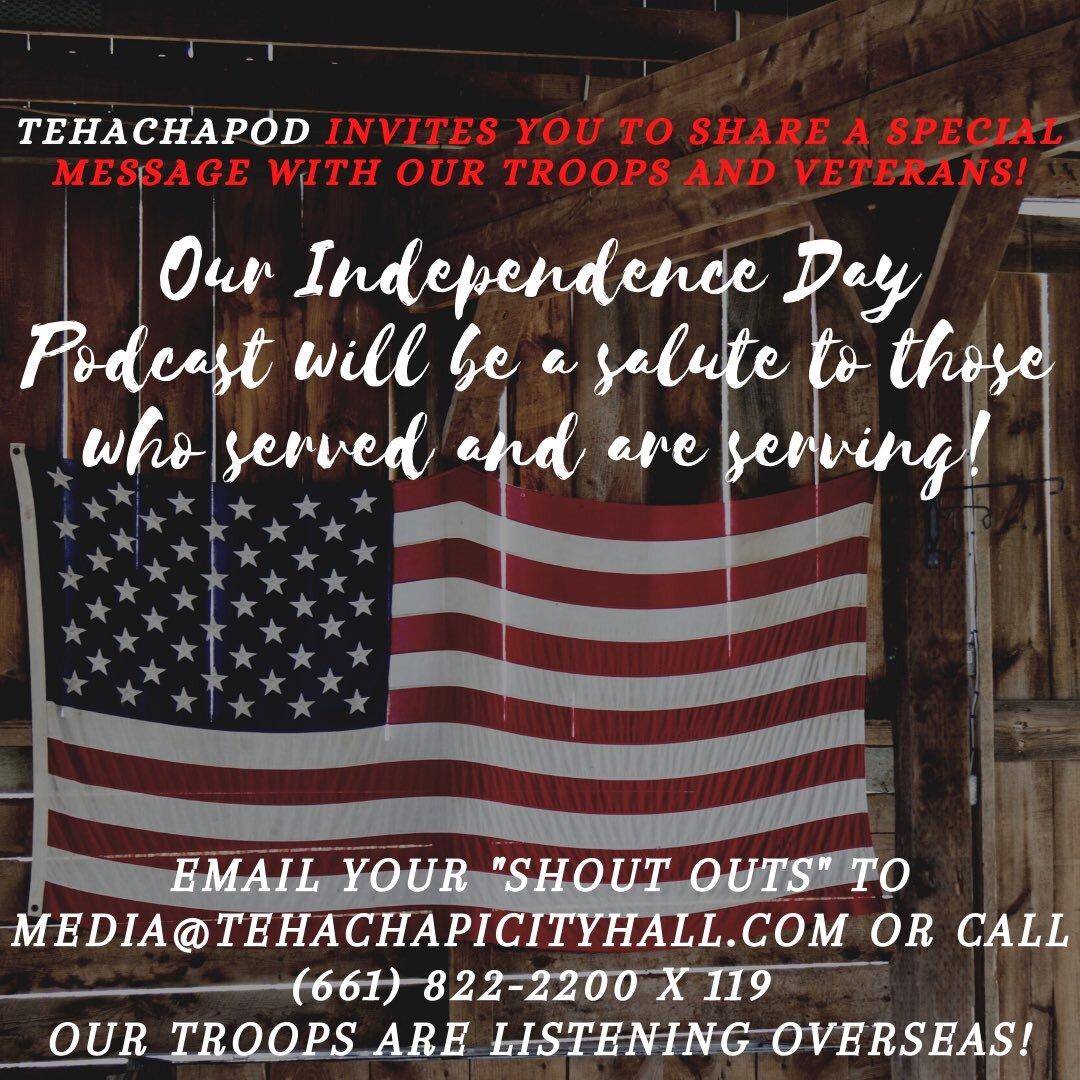 TehachaPod 4th of July