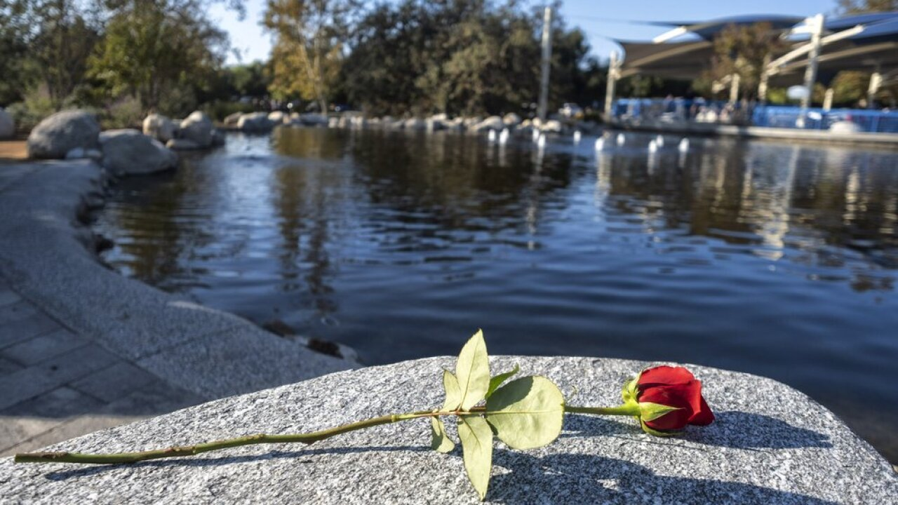 Ceremonies mark anniversary of California mass shooting