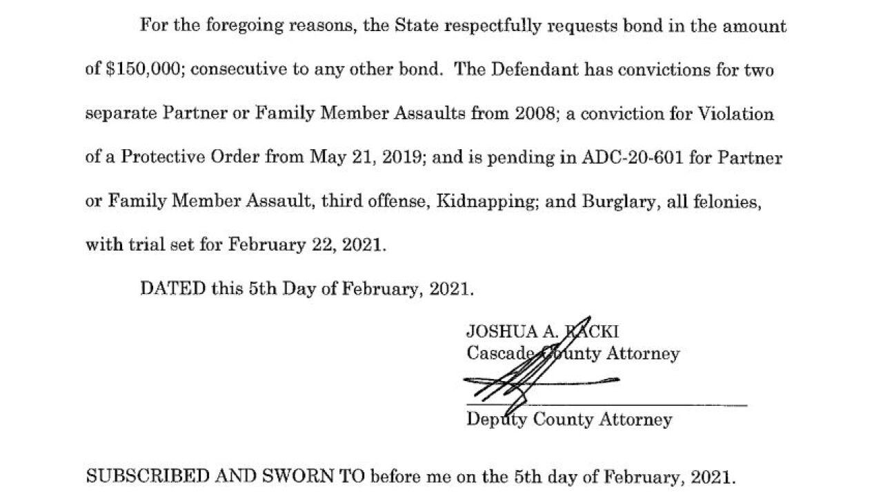 Zachariah Blaze Daniels court document