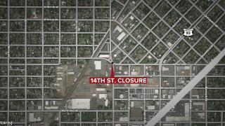 Missoula 14th Street Closure Map