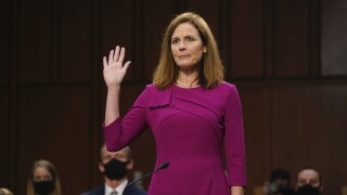 Amy Coney Barrett faces first day of hearings in the Supreme Court nomination process
