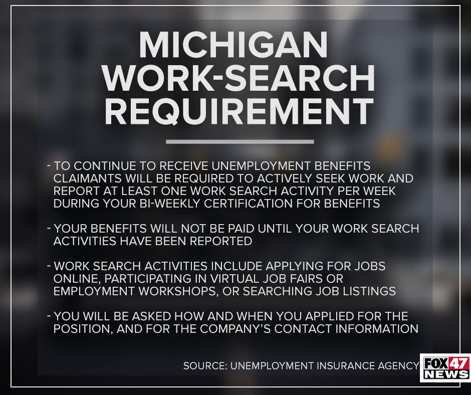 Things to know about the work-search requirement