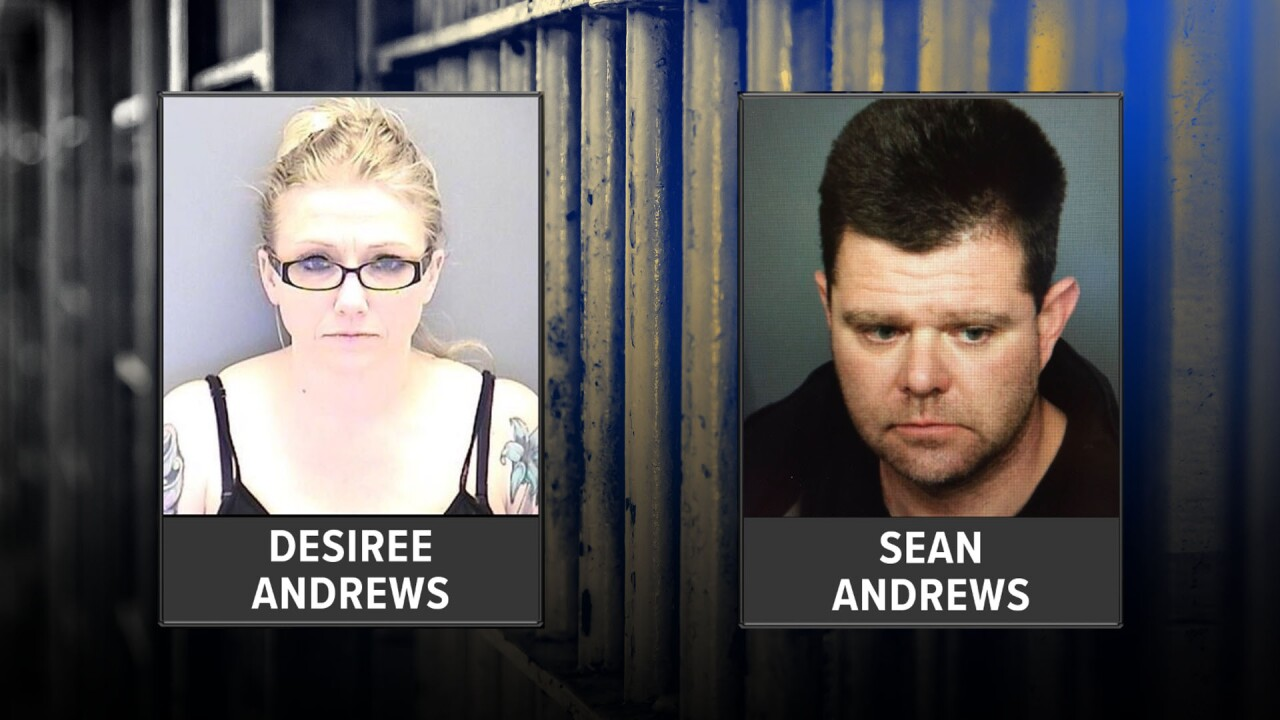 Couple accused of killing dog in Lakewood_Desiree Andrews_Sean Andrews.jpg