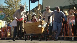 Manitou Coffin Race