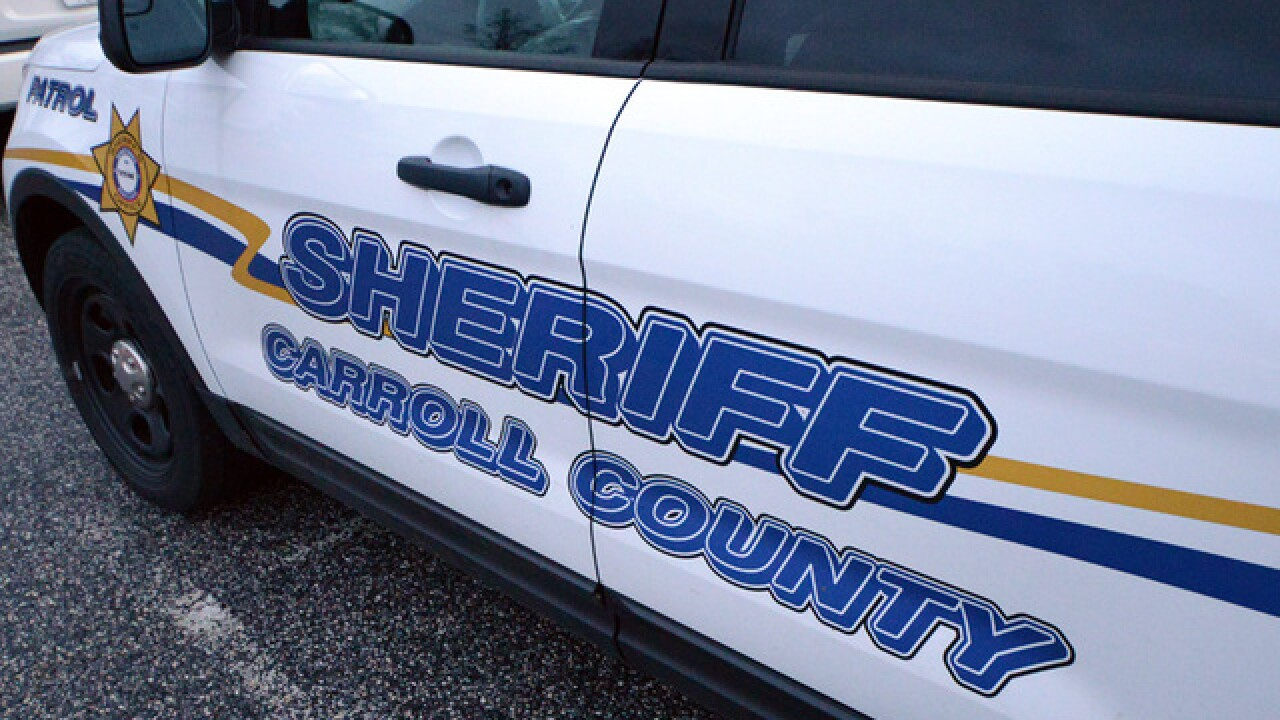 Carroll County Sheriff's Deputy involved in two-car crash in Westminster