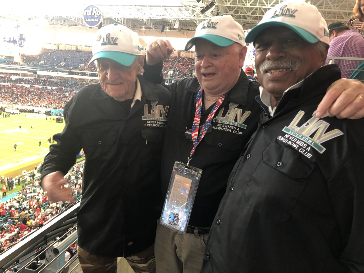 Never Miss a Super Bowl Club attends 55 bowl game