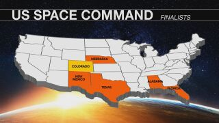 Pentagon team tours Peterson AFB as decision about US Space Command location looms