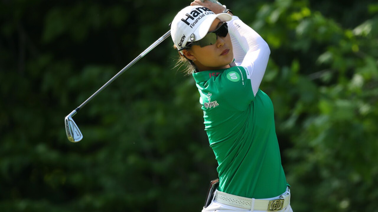 Minjee Lee tops LPGA event in Michigan; pregnant Lewis tied for 2nd