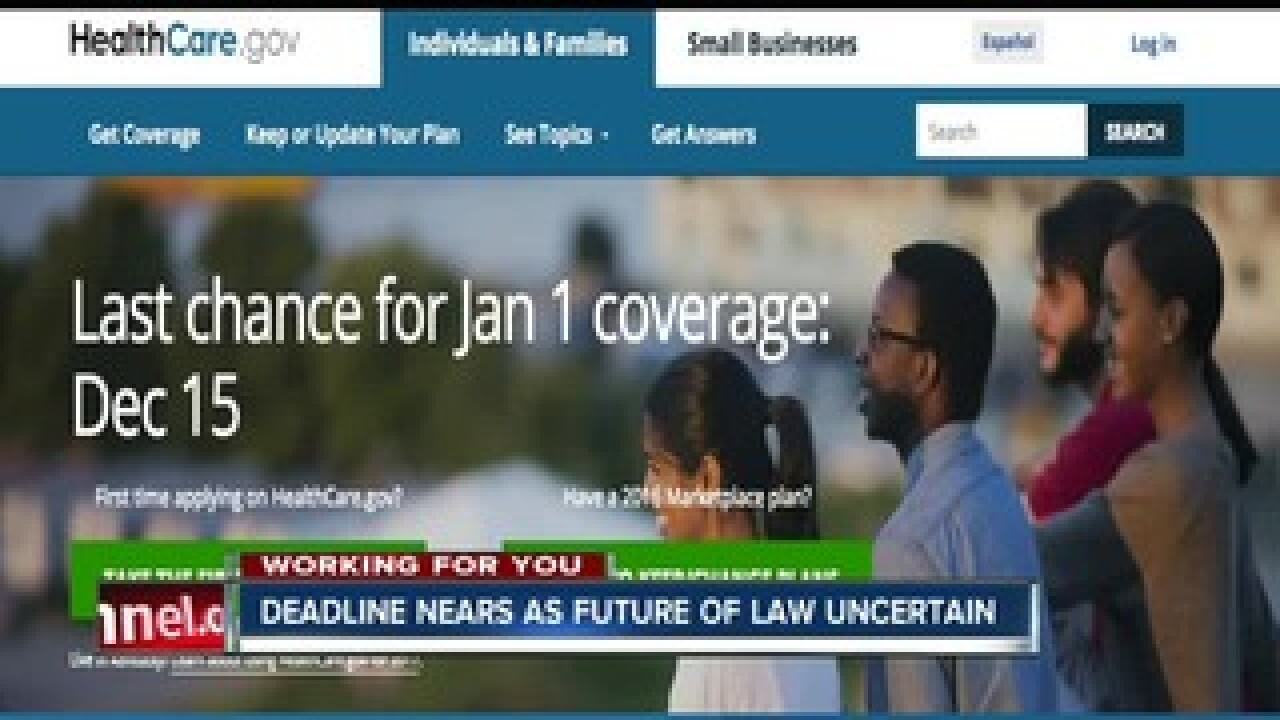 Deadline extended to sign up for Jan. 1 Obamacare coverage