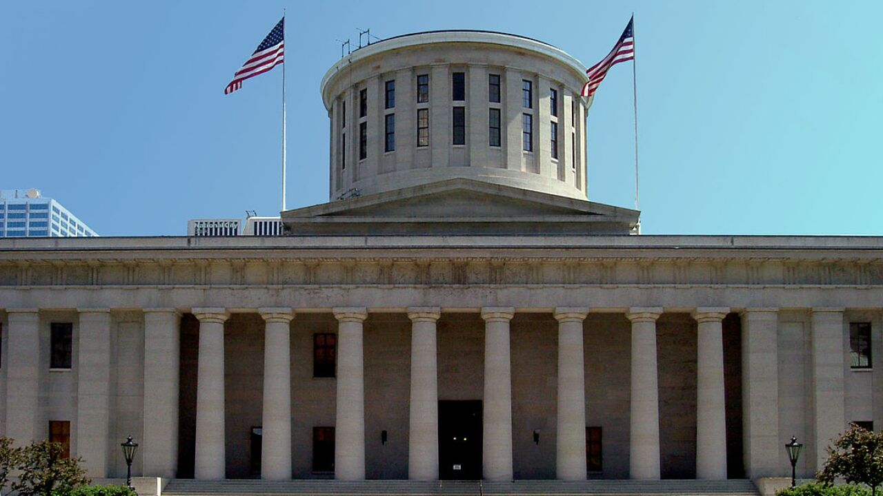 Ohio Statehouse in Columbus.