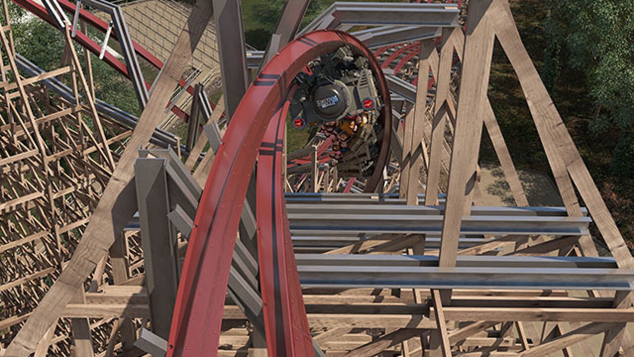 A look at new roller coaster Steel Vengeance