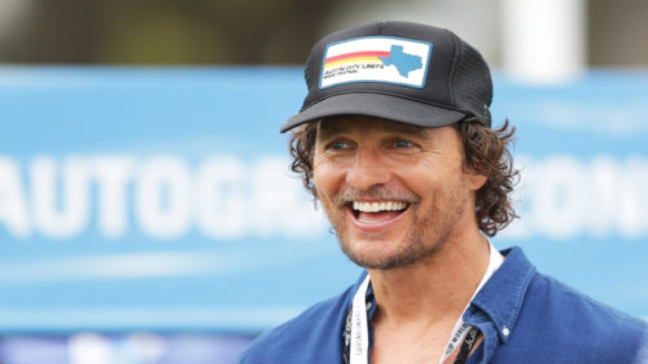 Matthew McConaughey Is Officially A University Professor