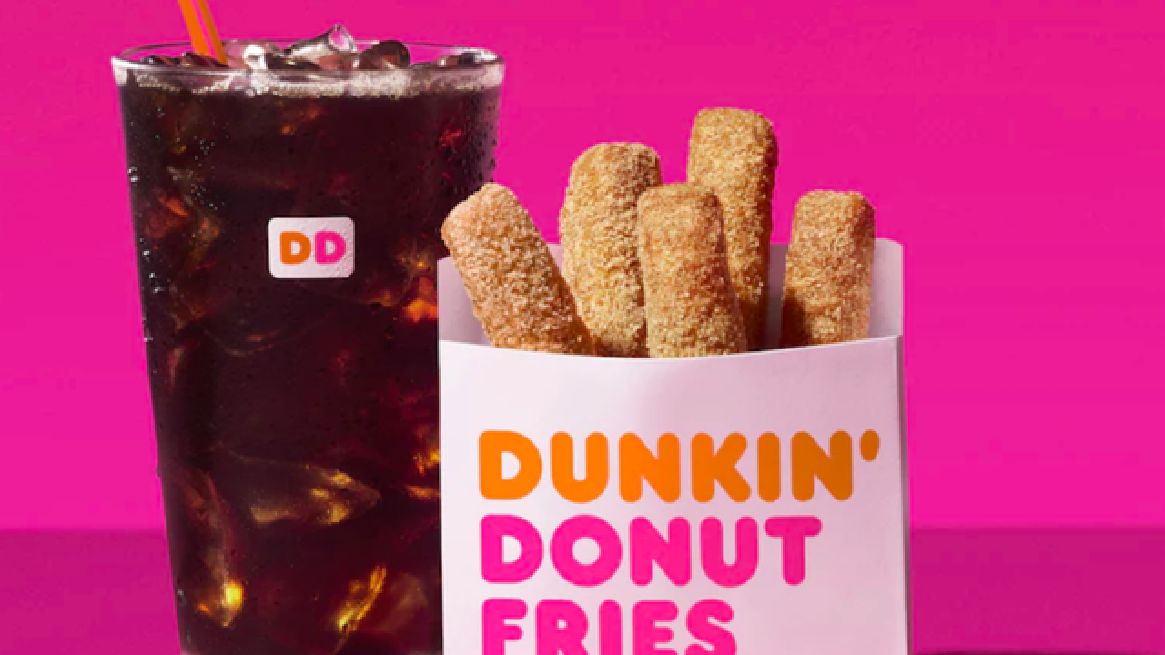 Dunkin' Donuts selling Donut Fries across the nation beginning July 2