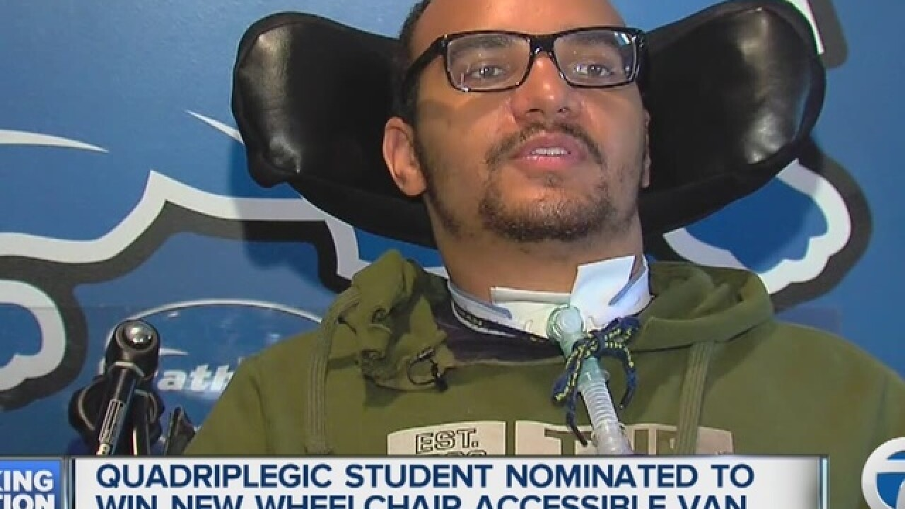 Local student who was paralyzed needs your help