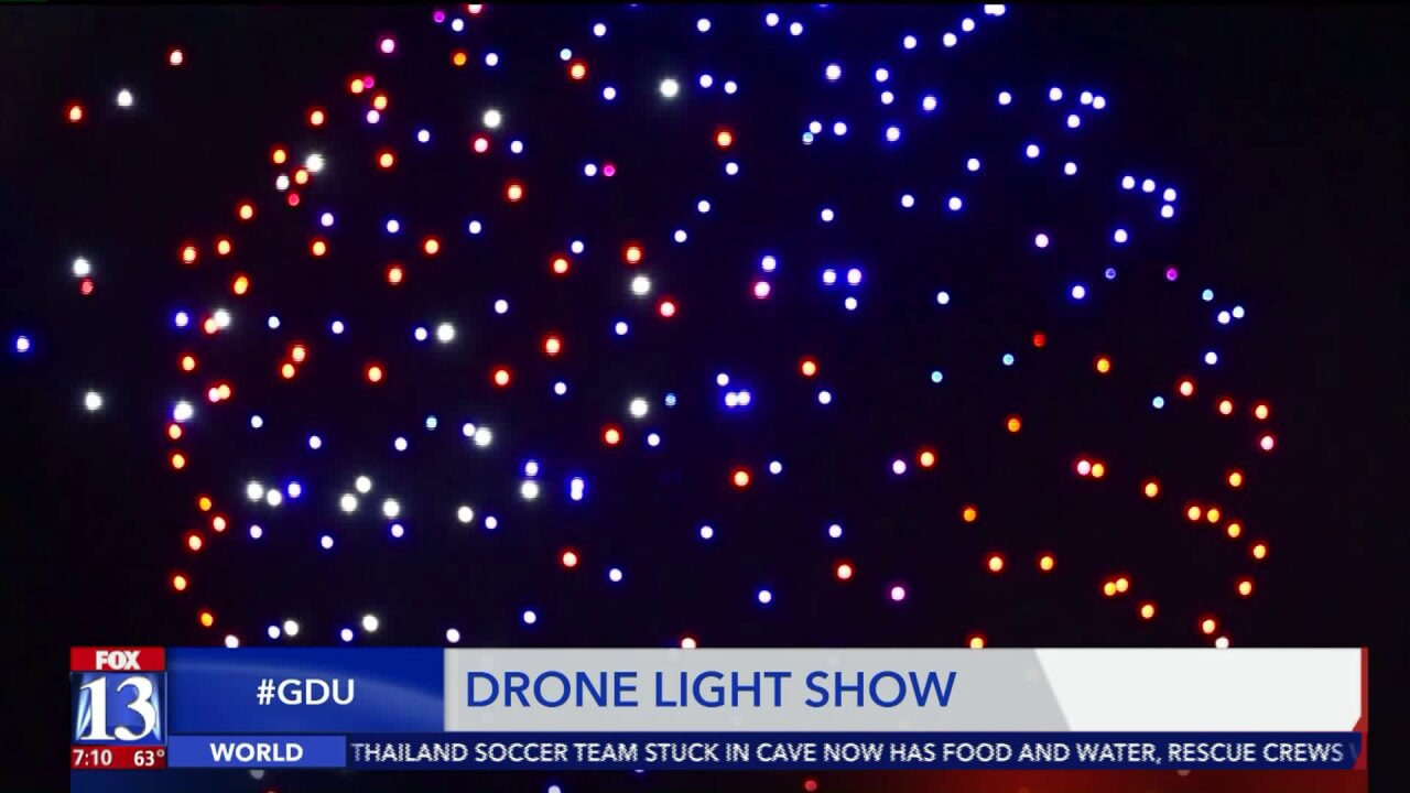 Western US cities are scrapping July 4 fireworks because of wildfires. So they're using dronesinstead