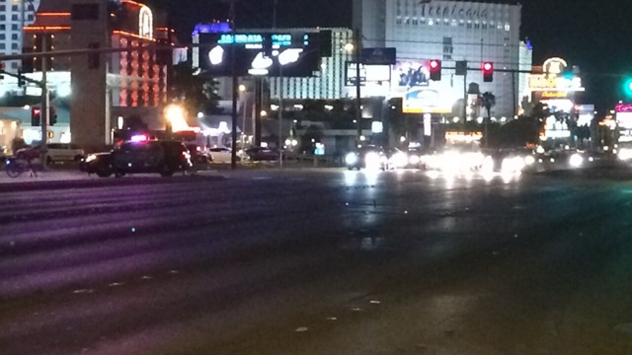 Deadly crash reported just east of Vegas Strip