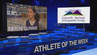 KOAA Athlete of the Week: Serin Dunne, Mesa Ridge Point Guard