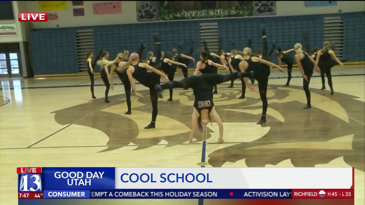 Cool School: Singing and dancing with Copper HillsHigh