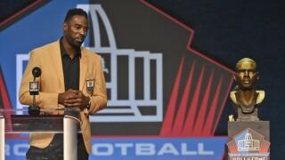 Calvin Johnson Hall of Fame Football
