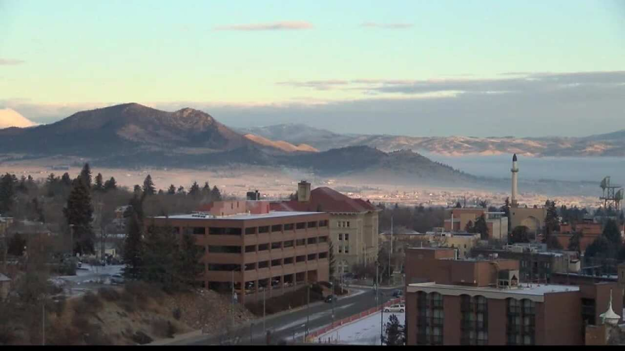Winter inversions can impact Montana air quality