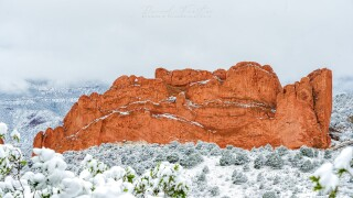 Daniel Forster September snow Garden of the Gods