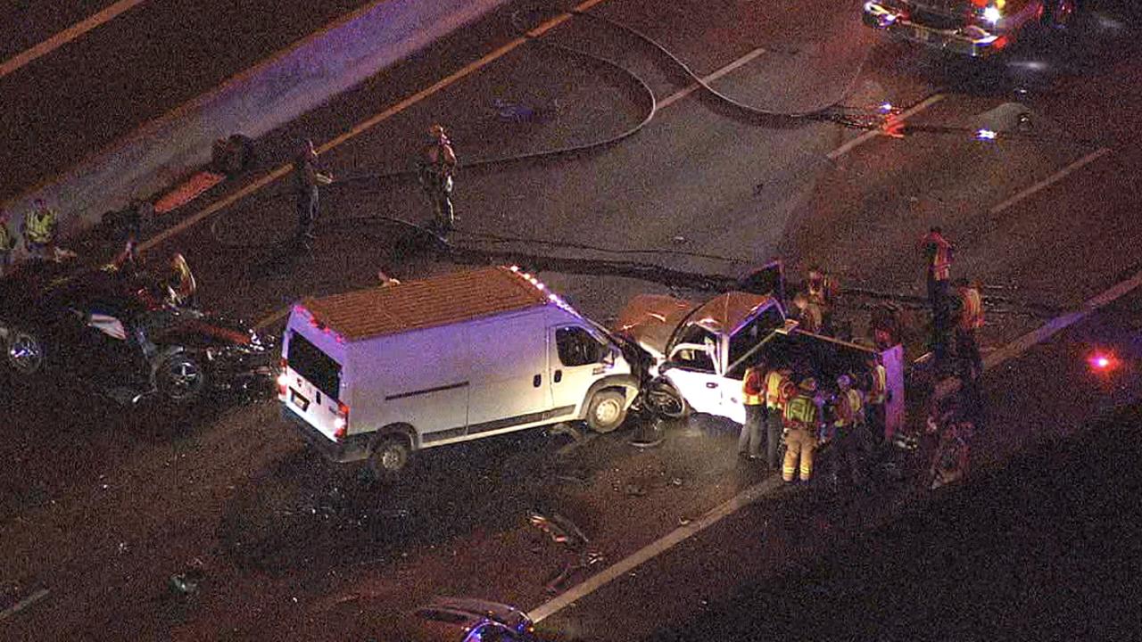 ADOT: Crash shuts down southbound I-17 and Thomas Road