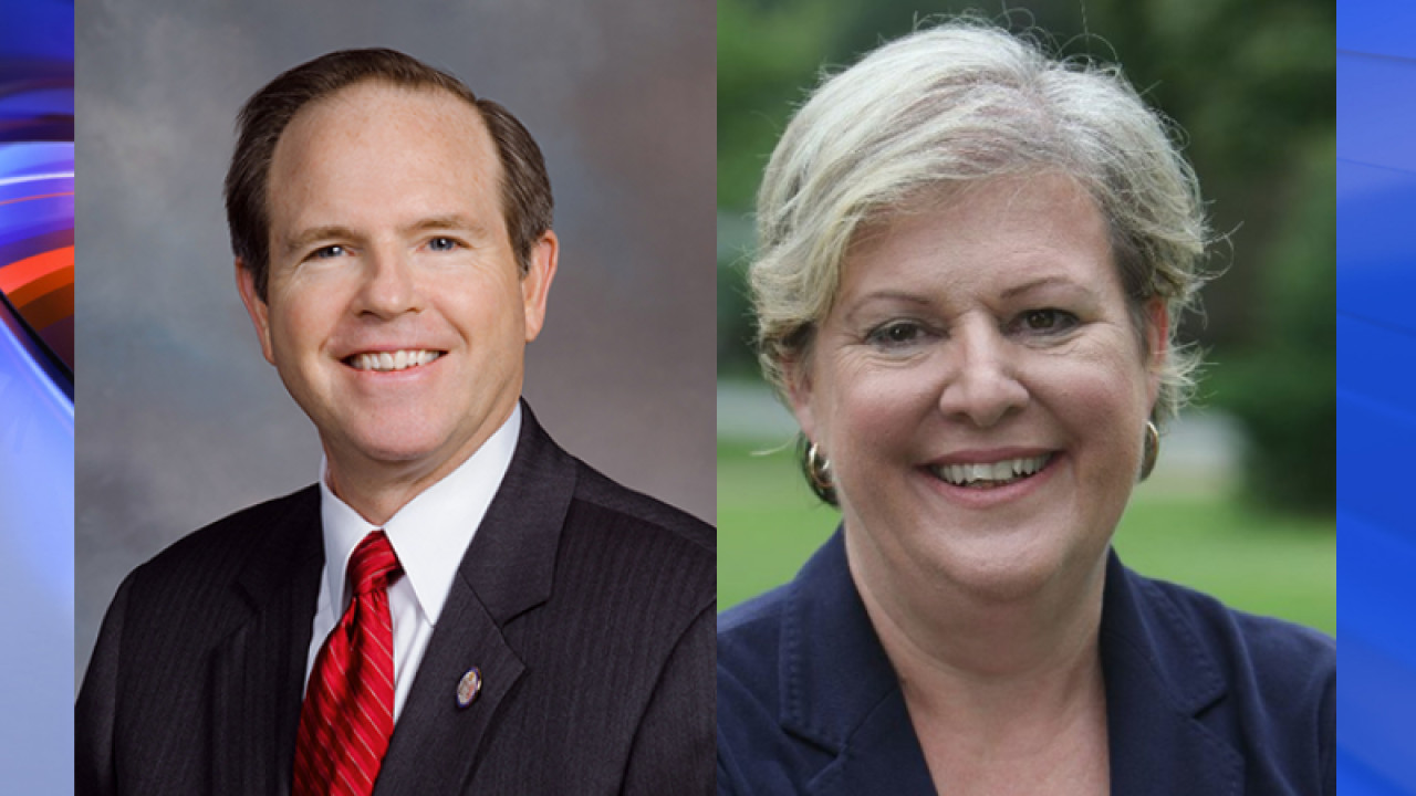 Nancy Guy leads Rep. Chris Stolle by 18 votes in Virginia's District 83race