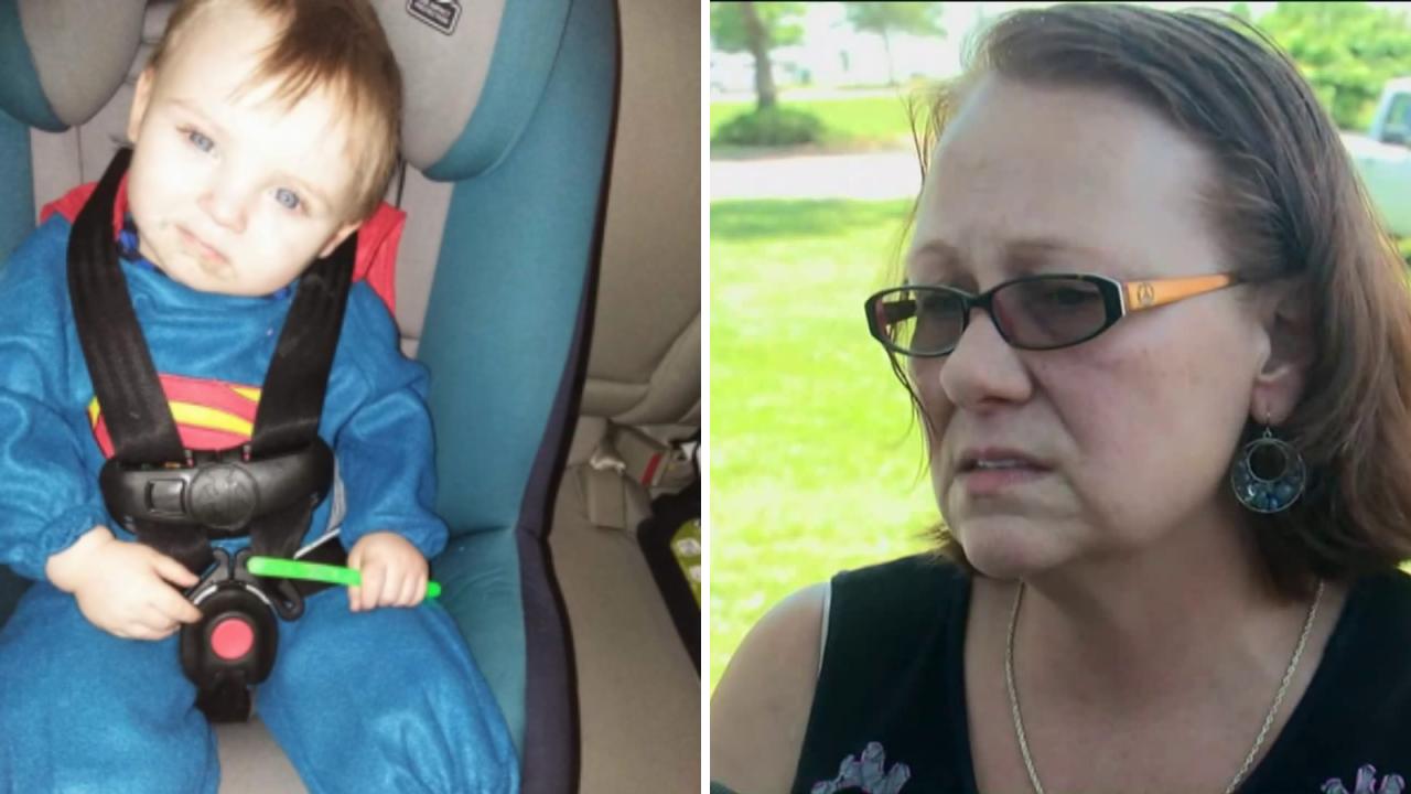 Noah Tomlin's grandparents share memories oftoddler