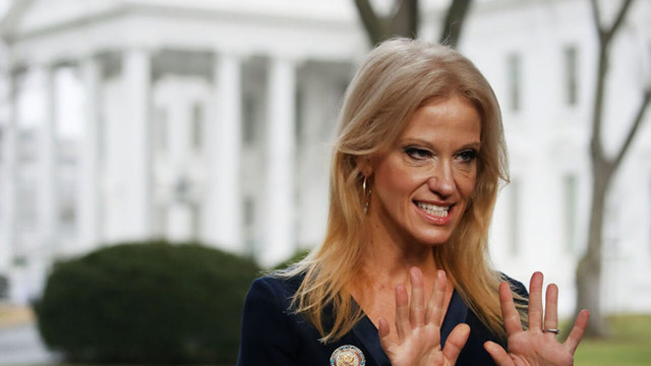Kellyanne Conway plugs Ivanka Trump fashion line