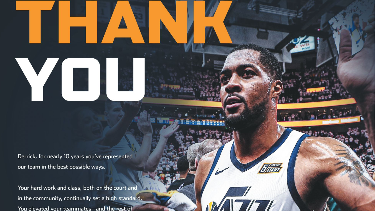 Gail Miller uses full-page ad to thank Favors, other Jazz players