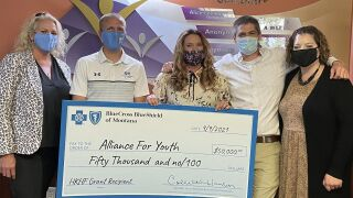 Alliance For Youth gets $50K surprise