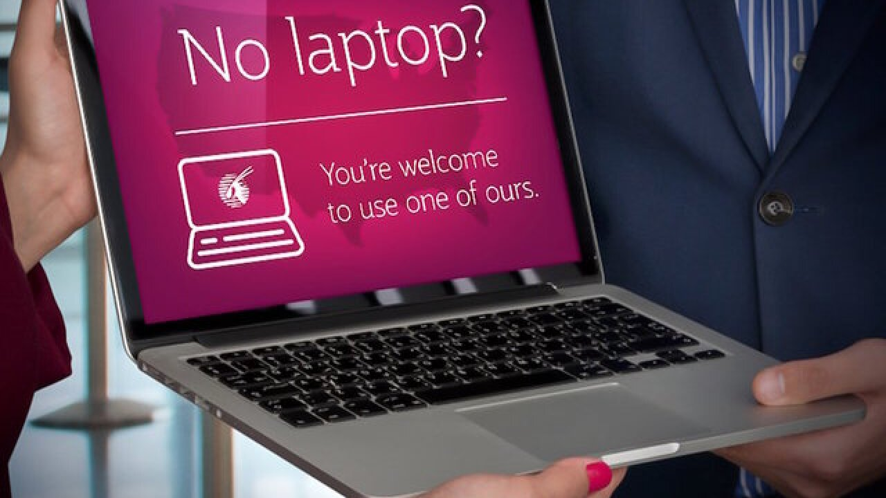 Qatar Airways CEO questions laptop ban