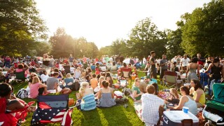 Wade Oval Wednesdays Concert series.