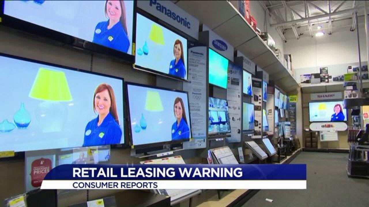 Consumer Reports: Retail leasing holidaywarning