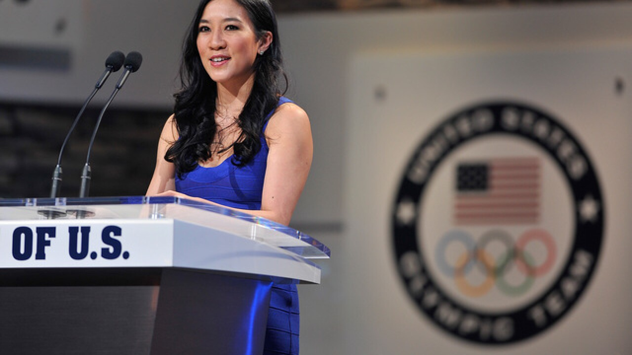Michelle Kwan to campaign for Clinton in Boise