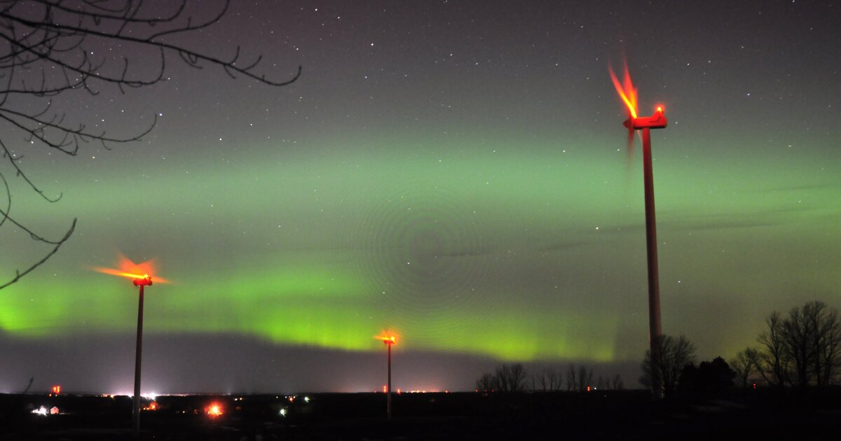 The northern lights will be visible as far south as Wisconsin and Michigan over Labor Day weekend - My TV20 Detroit