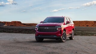 GM unveils even bigger Tahoe and Suburban SUVs