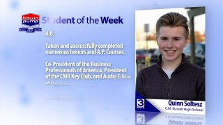 Student Of The Week: Quinn Soltesz
