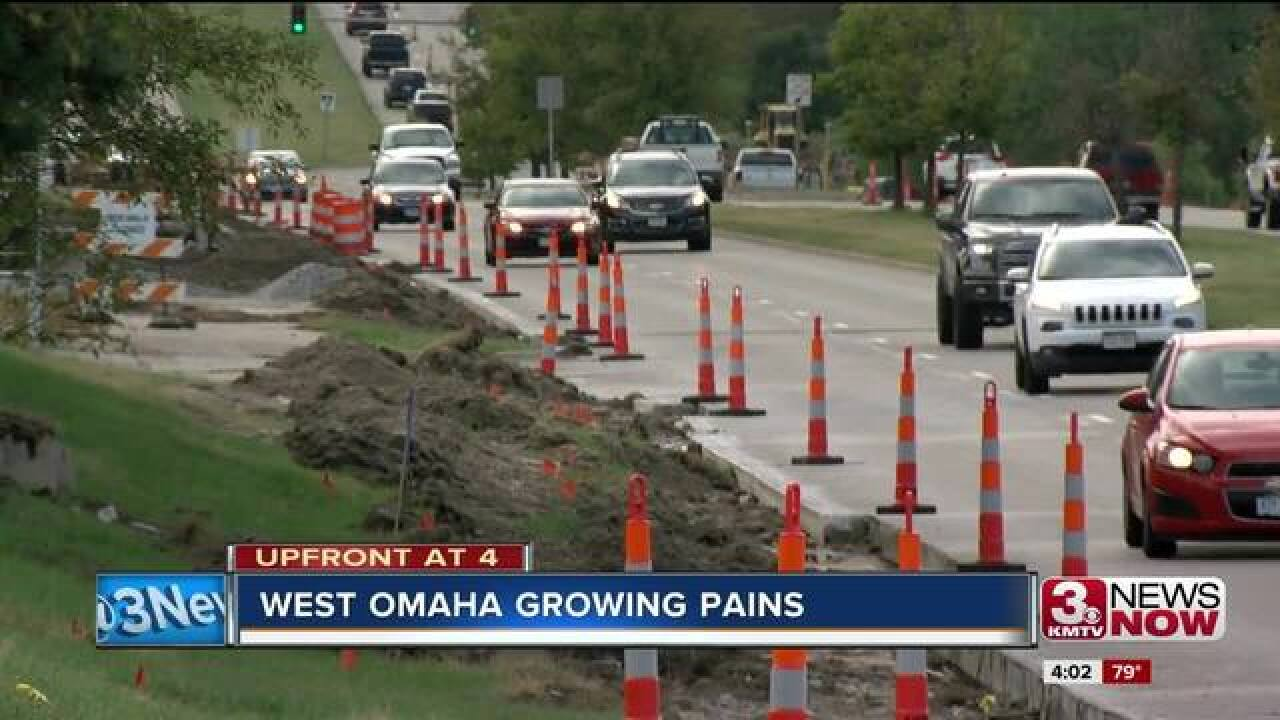Westward expansion affecting traffic commutes