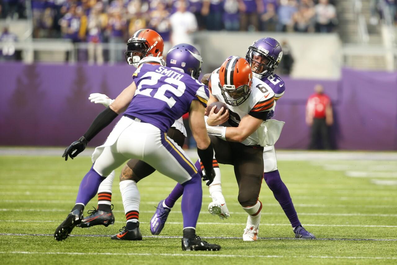 Browns Vikings Football