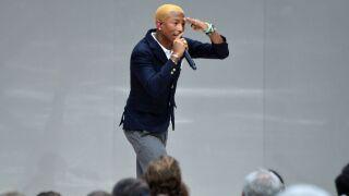 Pharrell Williams just offered internships to 114 Harlem high school grads