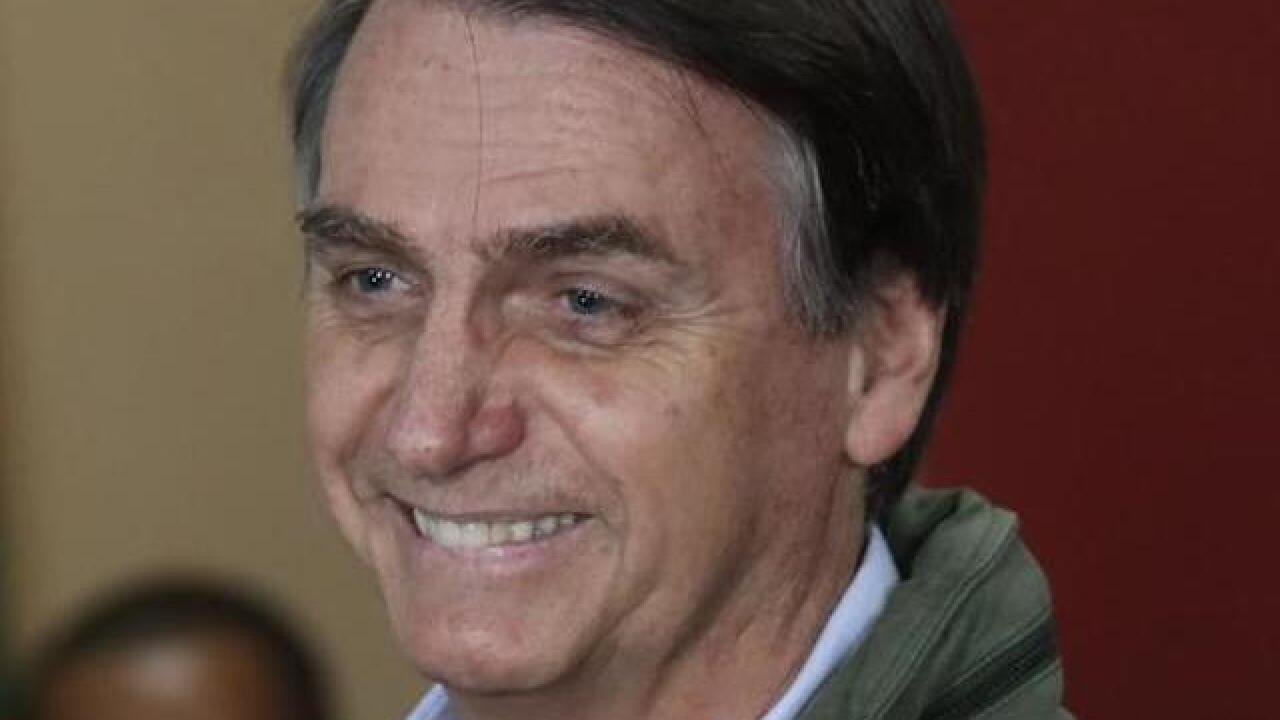 Far-right candidate Jair Bolsonaro wins presidential election in Brazil
