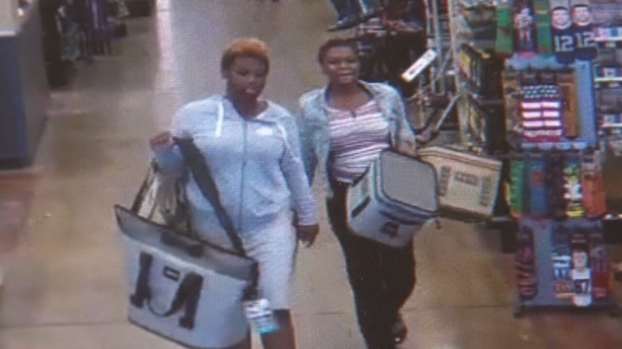2 suspects stole Yeti coolers, sprayed employee