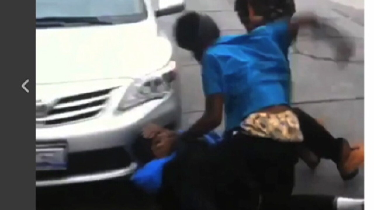 Video: East CLE parents report student fights