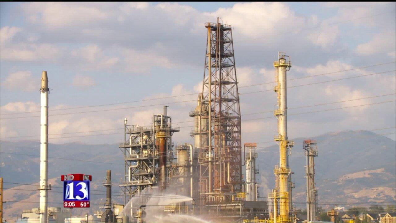 Crews extinguish butane fire at refinery in North SaltLake