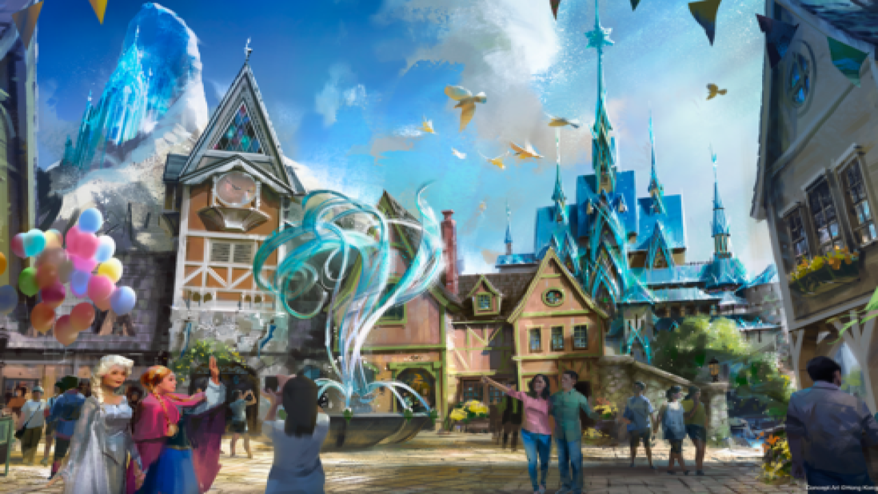 A New 'Frozen' Land Is Coming To Hong Kong Disneyland—and It Looks So Cool