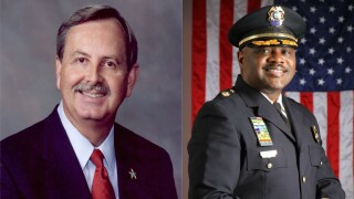 Ric Bradshaw and Alex Freeman, Democratic candidates for Palm Beach County sheriff
