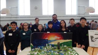 Mill Middle School Future City Winners