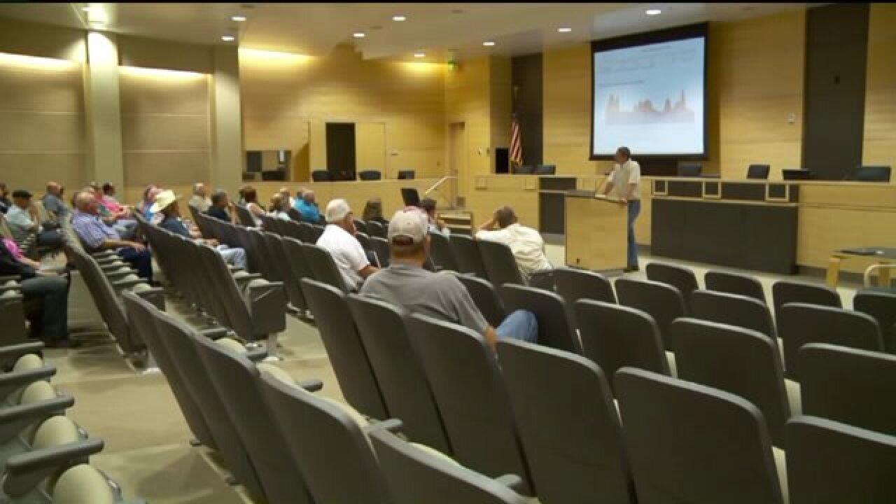 Syracuse hosts meeting to discuss secondary water restrictions as demand outpaces supply